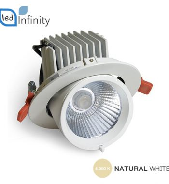 Incasso orientabile led 30w gimbal