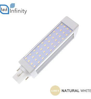 lampadina led 9w luce naturale attacco g24