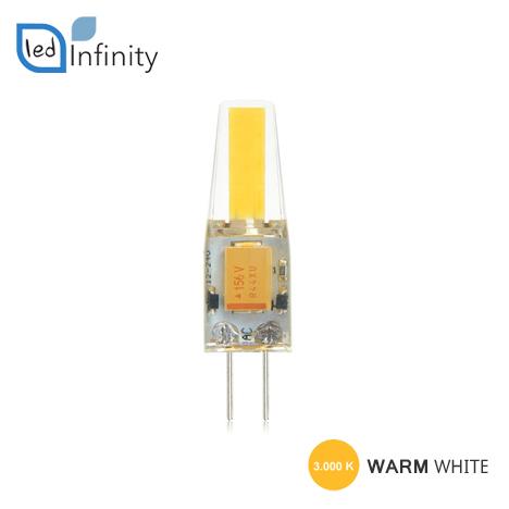 lampadina led silicone 2w attacco g4