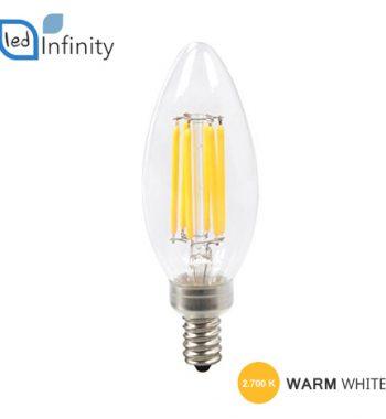 lampadina led filamento attacco piccolo e14 4w