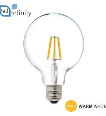 lampada led attacco grande e27 filamento 8w